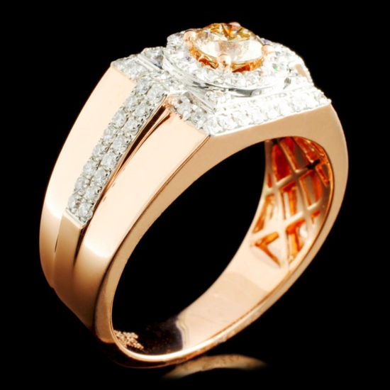 14K Gold 1.38ctw Diamond Ring