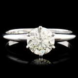 14K Gold 1.01ctw Solitaire Diamond Ring