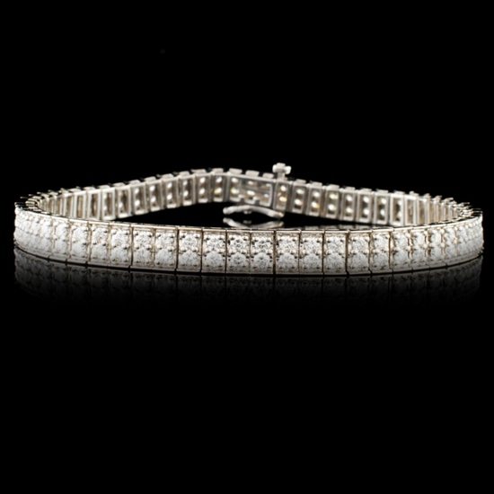 14K Gold 2.72ctw Diamond Bracelet