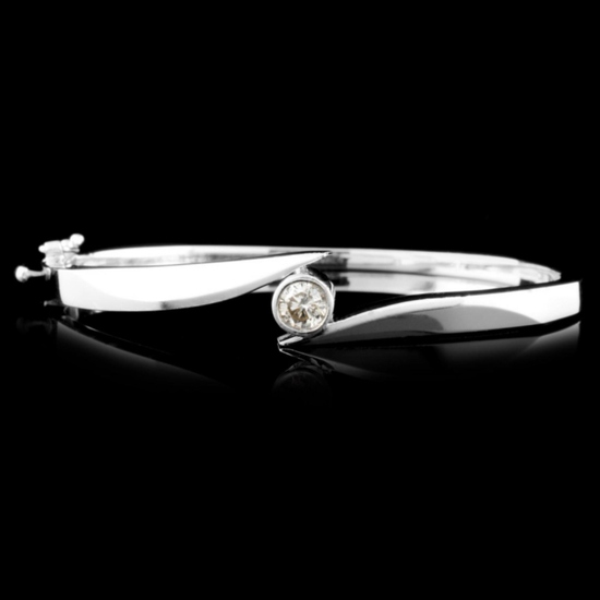 14K Gold 0.55ct Diamond Bracelet