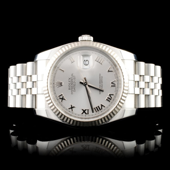 Rolex DateJust 18K/SS 36MM Wristwatch