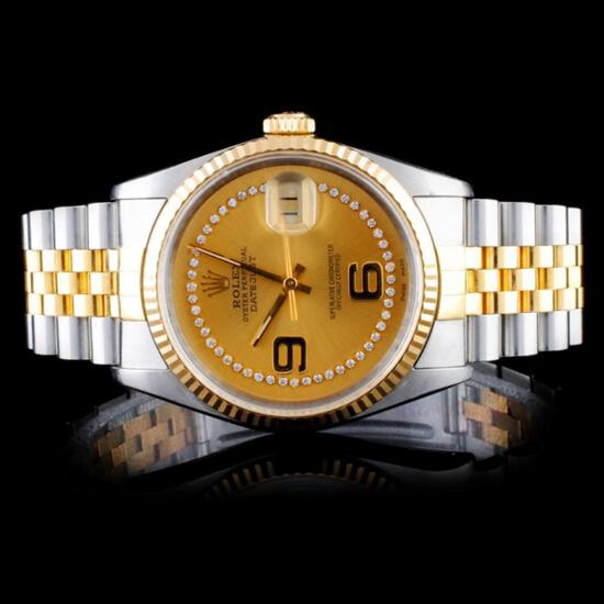 Amazing Certified Fine Jewelry & Rolex Watch Event