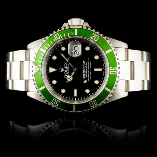 Rolex Submariner Stainless Steel 40MM Wristwatch