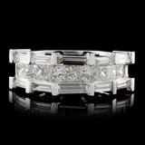 18K White Gold 1.20ctw Diamond Ring