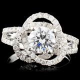 14K Gold 1.60ctw Diamond Ring