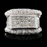 18K White Gold 2.75ctw Diamond Ring