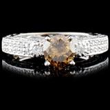 18K Gold 2.09ctw Fancy Color Diamond Ring