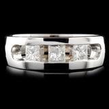 14K Gold 0.64ctw Diamond Ring