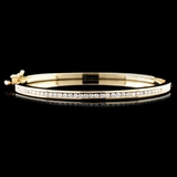 14K Gold 1.19ctw Diamond Bracelet