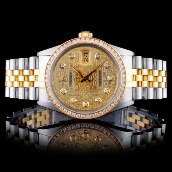 Live Estate Auction Diamonds & Rolex Watches Event