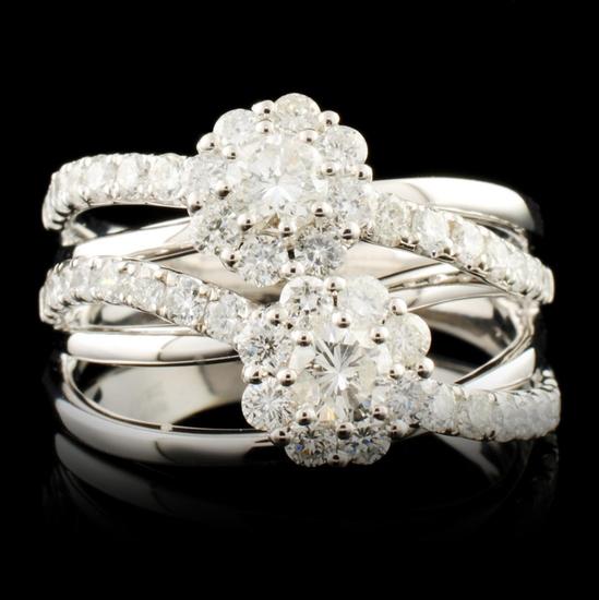 14K Gold 1.47ctw Diamond Ring