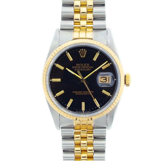 Rolex DateJust YG/SS Jubilee Wristwatch