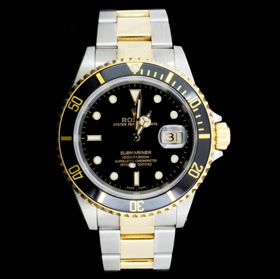 Rolex Submariner 18K & Stainless Steel 40MM Watch