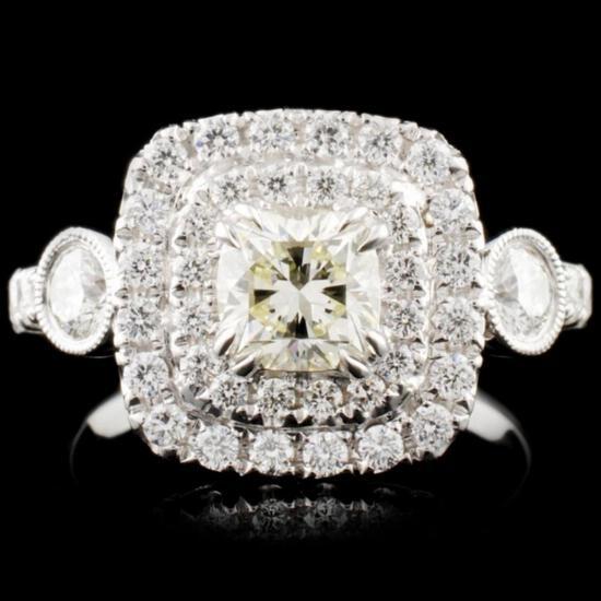 18K Gold 1.60ctw Diamond Ring