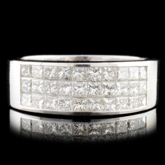 18K Gold 1.21ctw Diamond Ring