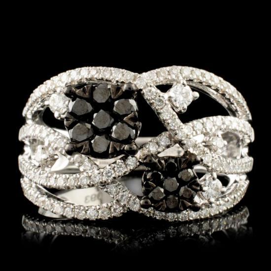 14K Gold 0.93ctw Diamond Ring