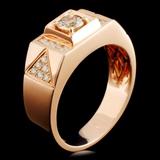 14K Gold 0.84ctw Fancy Diamond Ring