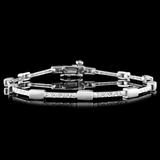 14K Gold 0.50ctw Diamond Bracelet