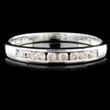 14K Gold 0.13ctw Diamond Ring