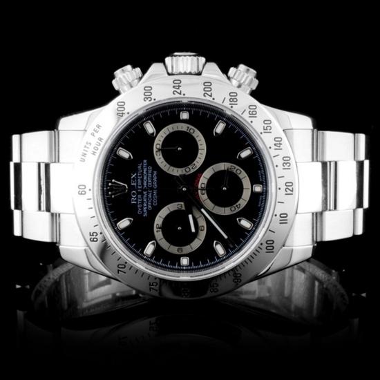 Rolex SS Daytona 40MM Wristwatch