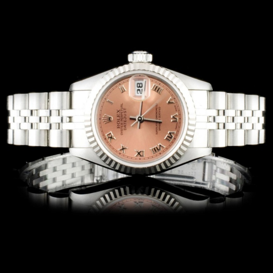 Rolex SS DateJust Ladies 26mm Wristwatch