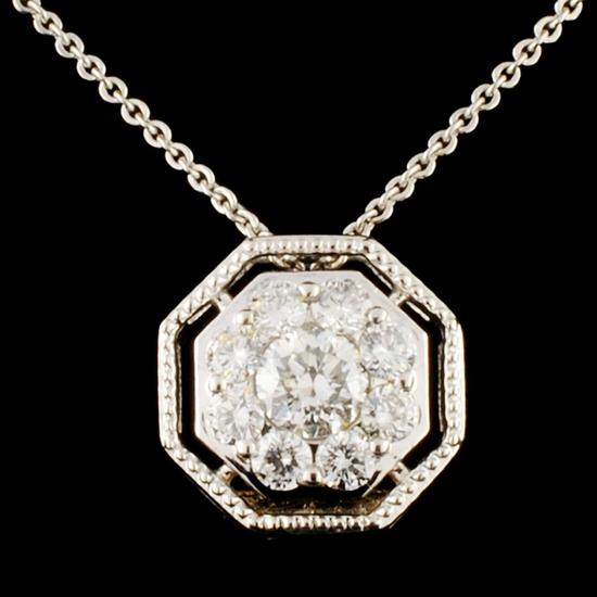 14K Gold 0.31ctw Diamond Necklace