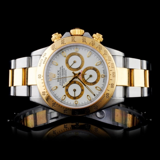 Rolex 18K YG/SS 40MM Daytona Wristwatch