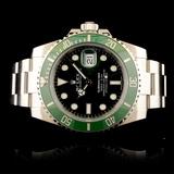 """Rolex Submariner """"Hulk"""" Ceramic Wristwatch"""