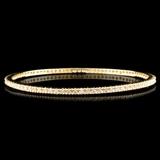 14K Gold 2.04ctw Diamond Bracelet