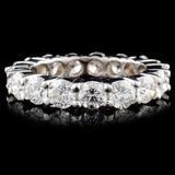 14K Gold 4.36ctw Diamond Ring