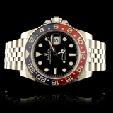 "Rolex GMT-Master II ""Pepsi"" Ceramic Watch 1267"