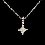 14K Gold 0.35ctw Diamond Pendant