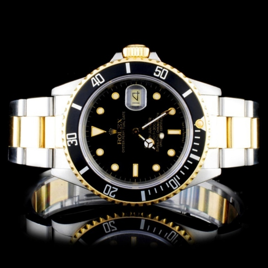 Rolex Two-Tone Submariner 40MM Wristwatch