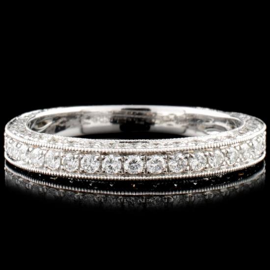 14K Gold 0.89ctw Diamond Ring
