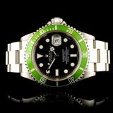 Rolex Submariner Kermit Stainless Steel Watch