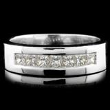 14K Gold 0.78ctw Diamond Ring