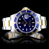 Rolex Submariner 18K & Stainless Steel Watch