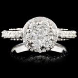 14K Gold 1.77ctw Diamond Ring