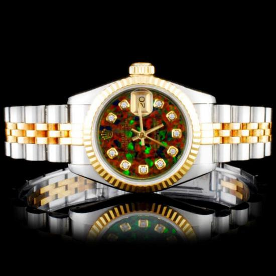Fine Jewelry & Certified Rolex Watch Live Auction