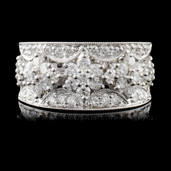 18K White Gold 1.30ct Diamond Ring