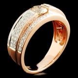 14K Gold 1.42ctw Diamond Ring