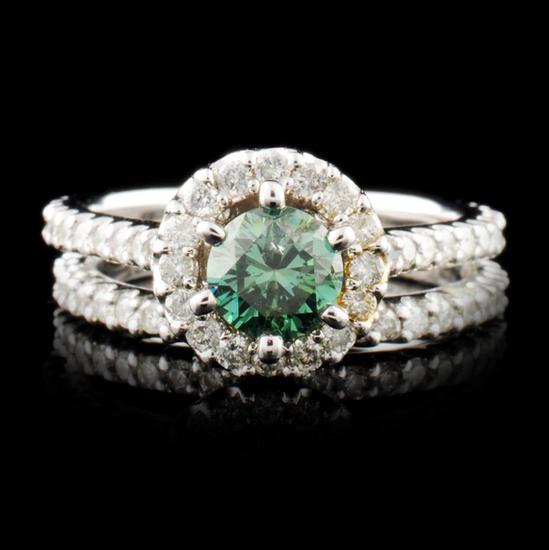 14K Gold 1.78ctw Diamond Ring