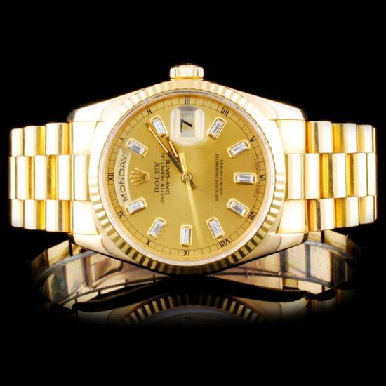 Diamonds Rubies 18k Jewelry Rolex Watches Auction