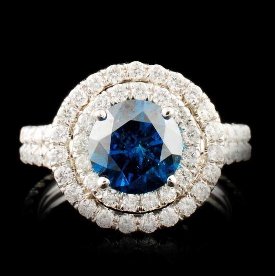 18K Gold 2.58ctw Diamond Ring