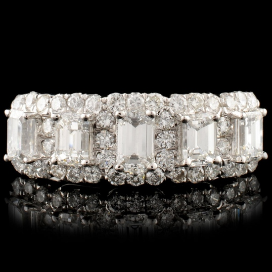 18K Gold 1.46ctw Diamond Ring