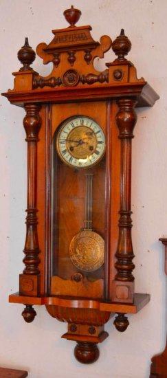 Schlenker & Kienzle Wall Clock Circa 1908 | Art, Antiques