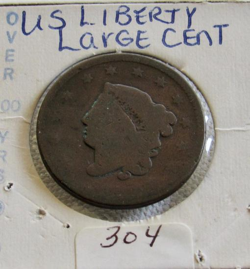 U S Liberty Large Cent
