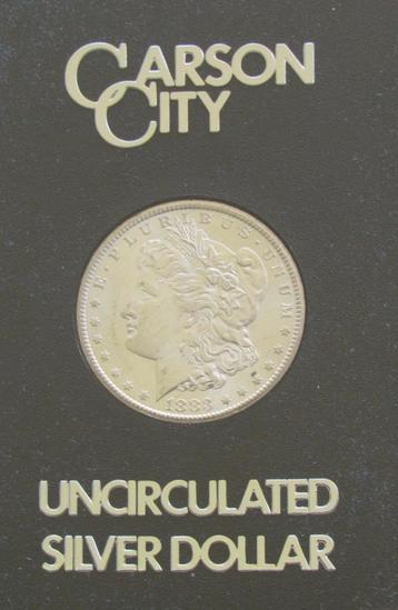 1883 CC Uncirculated Morgan Silver Dollar