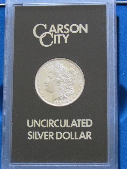 1882 CC Uncirculated Morgan Silver Dollar