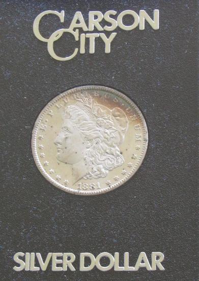 1881 CC Morgan Silver Dollar (Mixed Carson City)